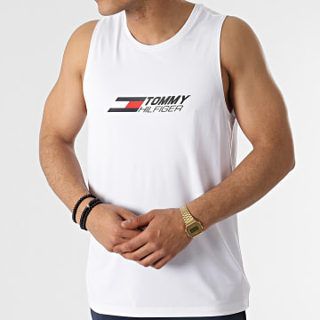 Tommy Sport - Débardeur Essentials Training 7229 Blanc