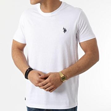 US Polo ASSN - Tee Shirt Sunwear Basic Blanc