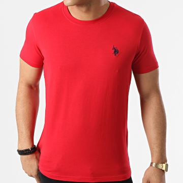 US Polo ASSN - Tee Shirt Sunwear Basic Rouge
