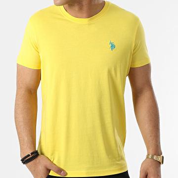 US Polo ASSN - Tee Shirt Sunwear Basic Jaune