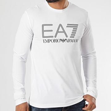 EA7 Emporio Armani - Tee Shirt Manches Longues 3KPT64-PJ03Z Blanc