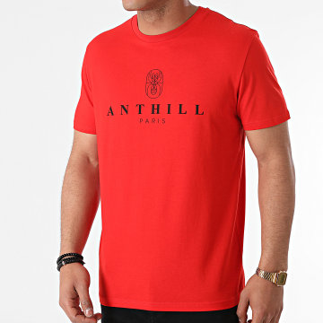 Anthill - Tee Shirt Ant 2021 Rouge Noir