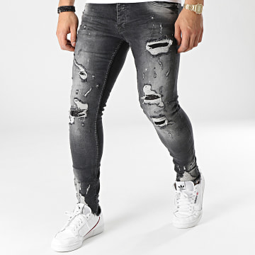 Classic Series - Jean Skinny DH-4022-2 Gris Anthracite