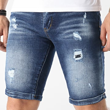 Classic Series - Short Jean 3135_2 Bleu Denim