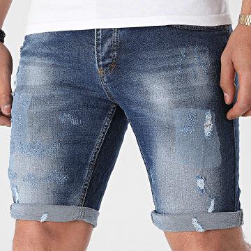 Classic Series - Short Jean 3085 Bleu Denim