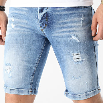 Classic Series - Short Jean 3135_1 Bleu Denim