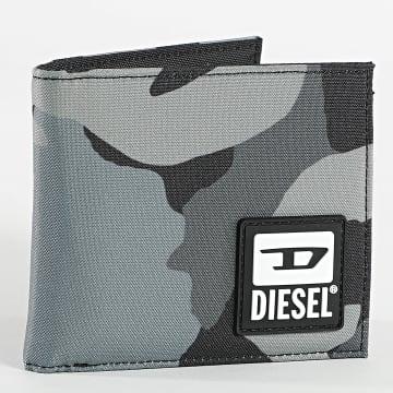 Diesel - Portefeuille X07758 Camouflage Vert Kaki