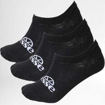 Ellesse - Lot De 3 Paires De Chaussettes Invisibles Frimo SAGA1791 Noir