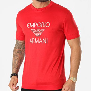 Emporio Armani - Tee Shirt 3K1TAF-1JUVZ Rouge