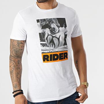 Le Temps Des Cerises - Tee Shirt Amsta Blanc