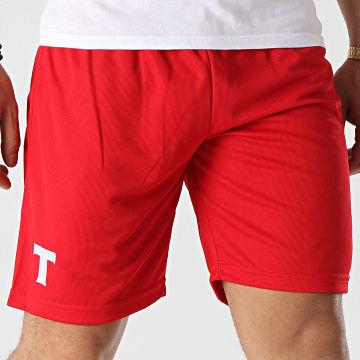 Okawa Sport - Short De Sport Warner 2 Rouge
