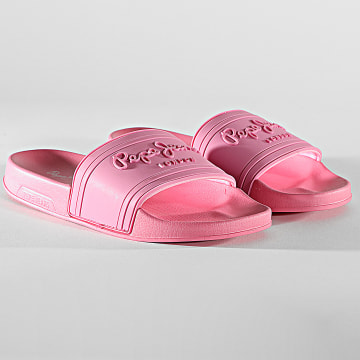 Pepe Jeans - Claquettes Femme Slider PLS70081 Rose