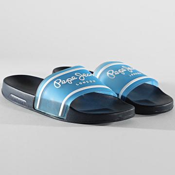 Pepe Jeans - Claquettes Slider Translucent PMS70092 Regal Blue