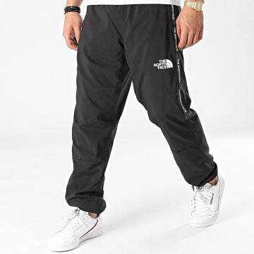 The North Face - Pantalon Jogging A Bandes Woven A5599KX7 Noir