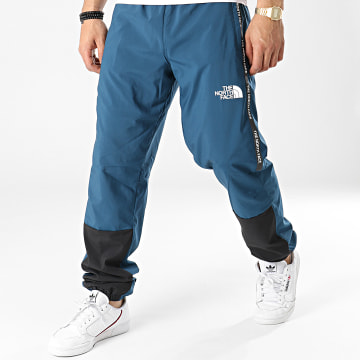 The North Face - Pantalon Jogging A Bandes Woven A5599KX7 Bleu Marine