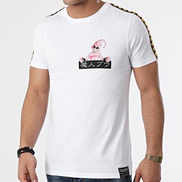 Dragon Ball Z - Tee Shirt A Bandes Majin Buu Back Blanc