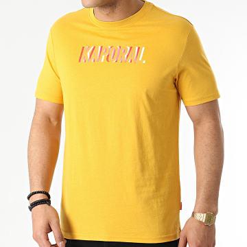 Kaporal - Tee Shirt Dean Jaune Moutarde