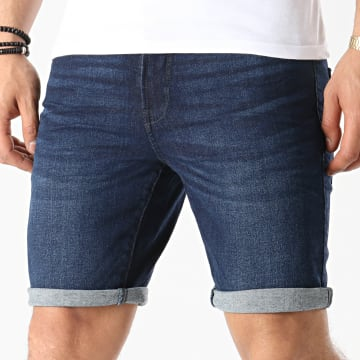 Solid - Short Jean Ryder 21104980 Bleu Denim
