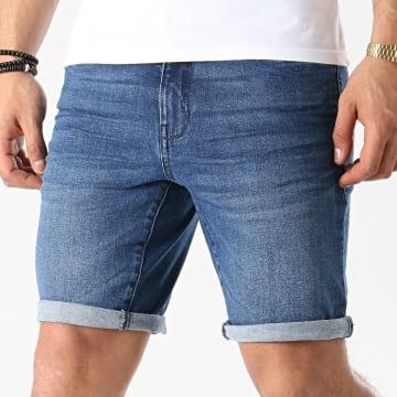 Solid - Short Jean 21104978 Bleu Denim