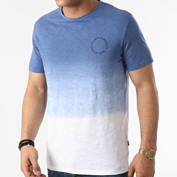 Solid - Tee Shirt Ruff 21105277 Blanc Bleu Dégradé