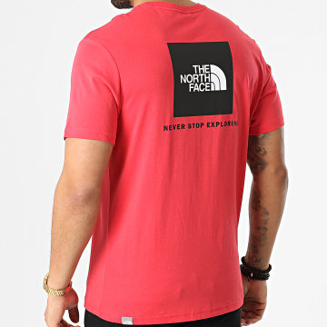 The North Face - Tee Shirt Red Box A2TX2 Rouge