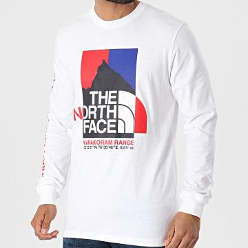 The North Face - Tee Shirt Manches Longues Karakoram A55UK Ecru