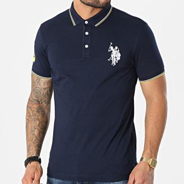 US Polo ASSN - Polo Manches Courtes New N3 Sunwear Bleu Marine