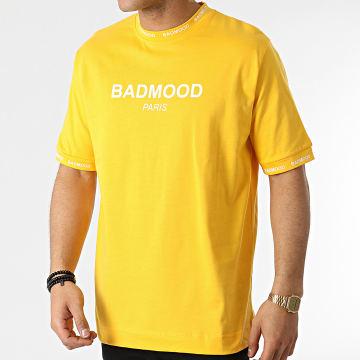 Badmood - Tee Shirt Repeat Please Jaune