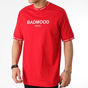 Badmood - Tee Shirt Repeat Please Rouge