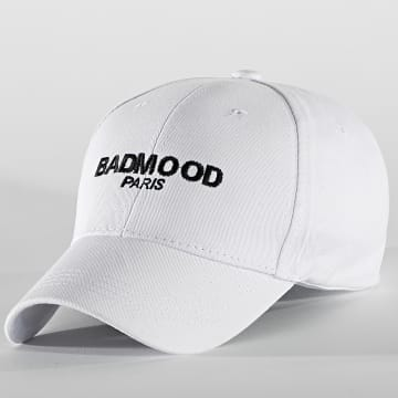 Badmood - Casquette First Blanc