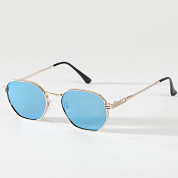 Classic Series - Lunettes De Soleil 016639 Doré Bleu