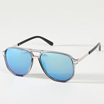 Classic Series - Lunettes De Soleil 026059 Noir Bleu