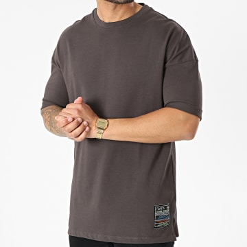 Classic Series - Tee Shirt Oversize G21-094 Gris Anthracite