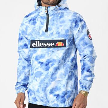 Ellesse - Veste Oudoor Capuche Mont 2 Tie Dye SHI11374 Bleu Clair