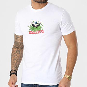 Monopoly - Tee Shirt Dollars Blanc