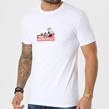 Monopoly - Tee Shirt Dolce Vita Blanc