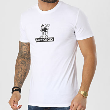Monopoly - Tee Shirt BW Gold Mine Blanc