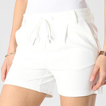 Only - Short Femme Poptrash Life Easy Blanc