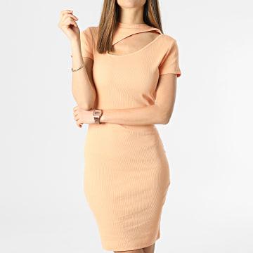 Only - Robe Femme Nessa Life Orange
