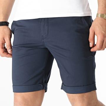 Selected - Short Chino Straight Paris 16065685 Bleu Marine