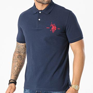 US Polo ASSN - Polo Manches Courtes Collar Bleu Marine
