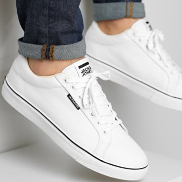 Jack And Jones - Baskets Carter Canvas Bright White