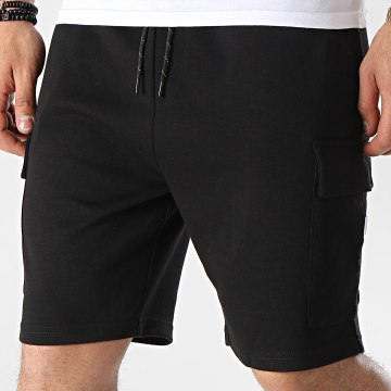 Jack And Jones - Short Jogging Cargo Sweat 12186752 Noir