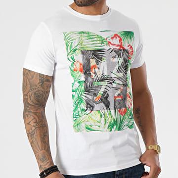 MZ72 - Tee Shirt The Sun Blanc Floral