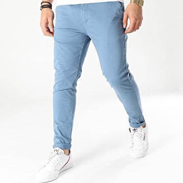 MZ72 - Pantalon Chino Esto Bleu