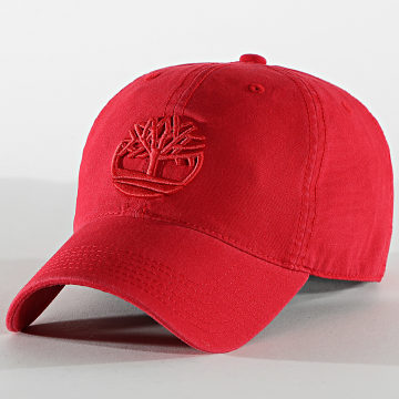 Timberland - Casquette A1E9M Rouge
