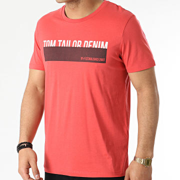 Tom Tailor - Tee Shirt 1016303-XX-12 Rouge
