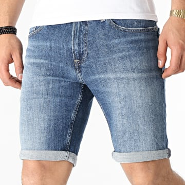 Tommy Jeans - Tommy Jeans Short Jean Slim Scanton 0558 Bleu Denim