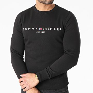 Tommy Hilfiger - Sweat Crewneck Tommy Logo 1596 Noir