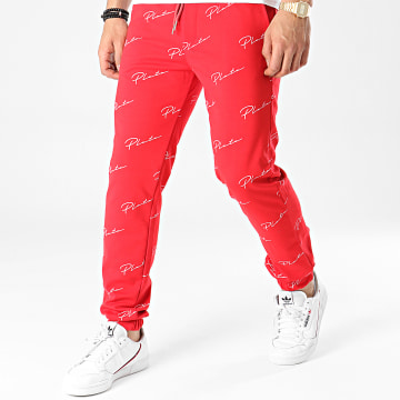 Uniplay - Pantalon Jogging UPP51 Rouge